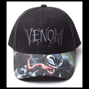 Gorra Marvel: Venom Logo Ajustable