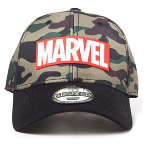 Gorra Marvel: Camouflage Logo Ajustable