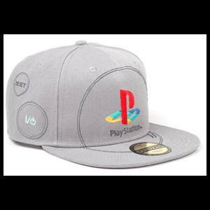 Gorra Playstation: Silver Logo
