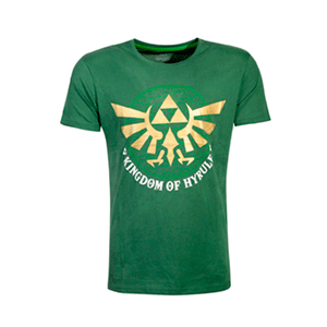Camiseta The Legend of Zelda: Golden Hyrule Talla M