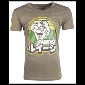 Camiseta Nintendo: Luigi Japanese Talla S