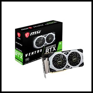 MSI GeForce RTX 2070 SUPER VENTUS OC 8GB GDDR6 - Tarjeta Gráfica Gaming