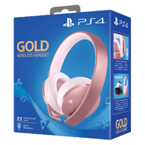 Auriculares Wireless Headset Sony - Rose Gold - Auriculares Gaming