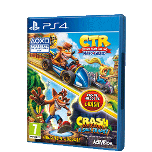 Pack Crash Team Racing Nitro Fueled + Crash N. Sane Trilogy