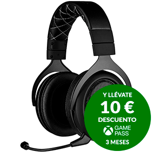 CORSAIR HS70 PRO Wireless Carbon PC-PS4 - Auriculares Gaming