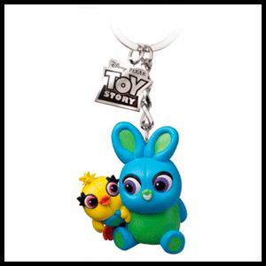 Llavero Egg Attack Disney Toy Story 4: Ducky & Bunny
