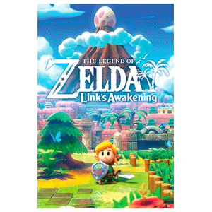 Poster The Legend of Zelda: Link´s Awakening
