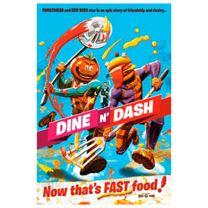 Poster Fortnite Dine n Dash