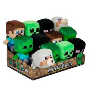 Peluche Mini Minecraft