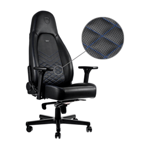 noblechairs ICON Negro-Azul - Silla Gaming