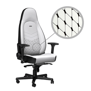 noblechairs ICON Blanco-Negro - Silla Gaming