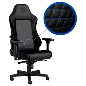 noblechairs HERO Negro-Azul - Silla Gaming