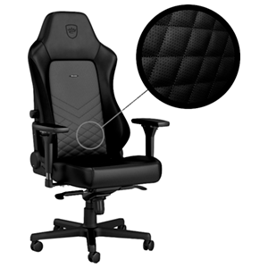 noblechairs HERO Negro-Negro - Silla Gaming
