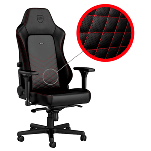 noblechairs HERO Negro-Rojo - Silla Gaming