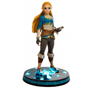 Estatua The Legend of Zelda: Breath of the Wild Princesa Zelda Collector´s Edition