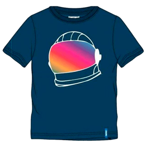 Camiseta Fornite Casco Azul Talla M