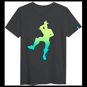 Camiseta Fornite Gesto Loser Gris Talla L