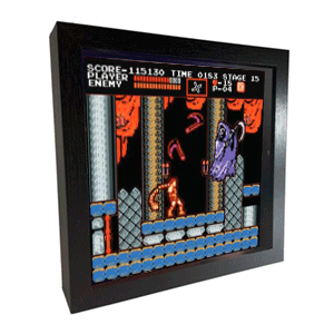 Pixel Frames Castlevania NES L