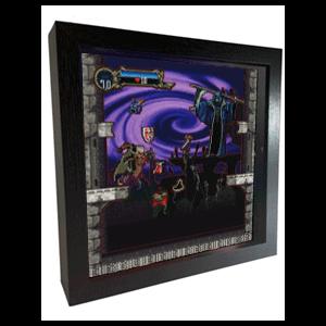 Pixel Frames Castlevania SOTN S