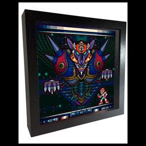 Pixel Frames Mega Man Boss Fight L