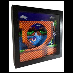 Pixel Frames Sonic Loop S
