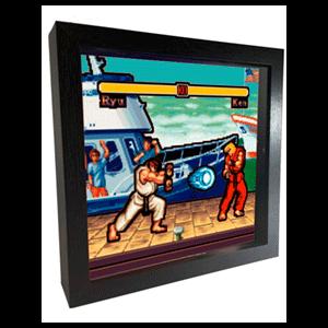 Pixel Frames Street Fighter Boat S