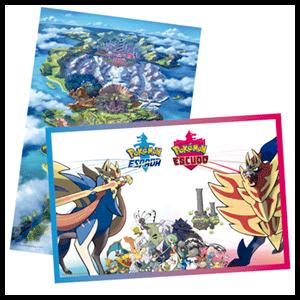 Pokémon Espada/Escudo - Póster WEB