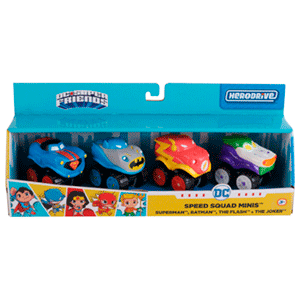 DC Superfriends Speed Squad Mini