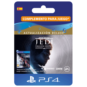 Star Wars Jedi Fallen Order Deluxe Upgrade PS4