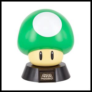 Lámpara 3D Super Mario: Seta