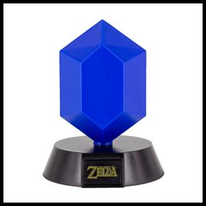 Lámpara 3D The Legend of Zelda: Rupia Azul