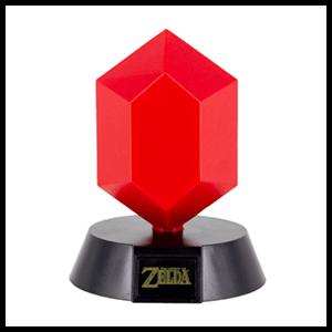 Lámpara 3D The Legend of Zelda: Rupia Roja
