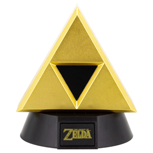 Lámpara 3D The Legend of Zelda: Trifuerza