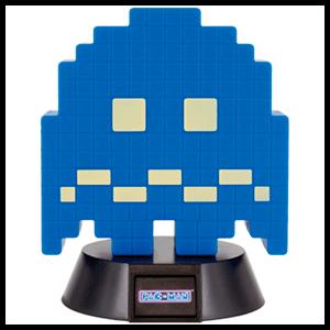 Lámpara 3D PacMan: Fantasma Azul