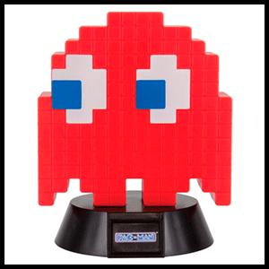 Lámpara 3D PacMan: Fantasma Blinky