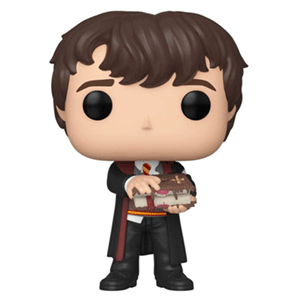 Figura Pop Harry Potter S10: Neville with Monster Book