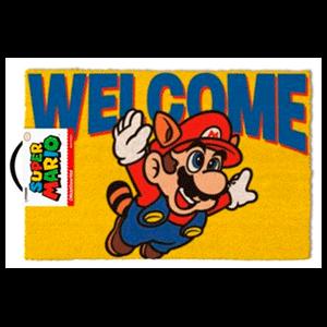 Felpudo Super Mario Bienvenido