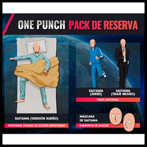 One Punch Man - DLC pack de reserva PS4