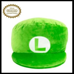 Peluche Mega Nintendo: Luigi Hat