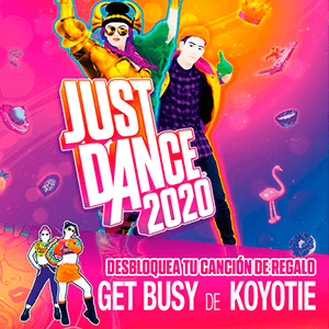 Canción Get Busy - Just Dance 2020