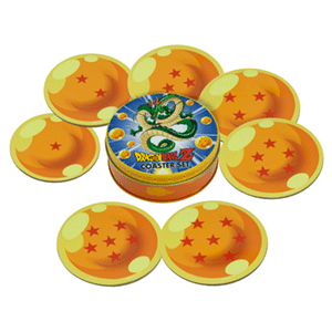 Posavasos Dragon Ball Set 7 Bolas de Dragón