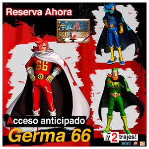 One Piece Pirate Warriors 4 - DLC acceso a Germa 66 y 2 trajes PS4