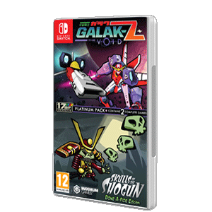 GALAK-Z The Void & Skulls of the Shogun Bone-A-Fide Platinum Pack