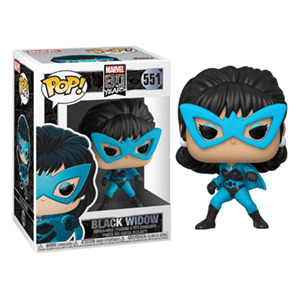 Figura Pop Marvel 80th: Viuda Negra