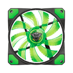 TRUST 762G LED Verde - Ventilador 120mm - Reacondicionado