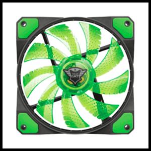 TRUST 762G LED Verde - Ventilador 120mm - Reacondicionado