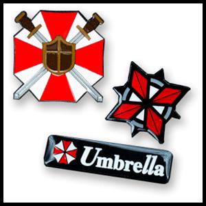 Set de Pins Resident Evil 3