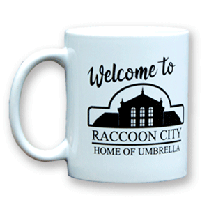 Taza Resident Evil Welcome to Raccoon City 325ml