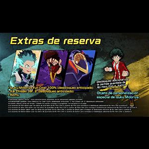 My Hero One's Justice 2 - DLC Extras de reserva PS4