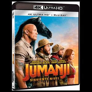 Jumanji - El Siguiente Nivel - 4K + BD